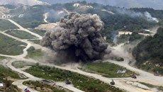 Совместные военные боевые учения Южной Кореи и США. Архивное фото