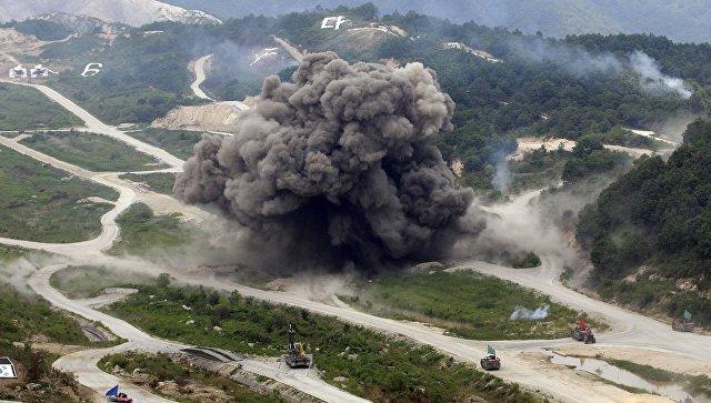 Совместные военные боевые учения Южной Кореи - США. Архивное фото