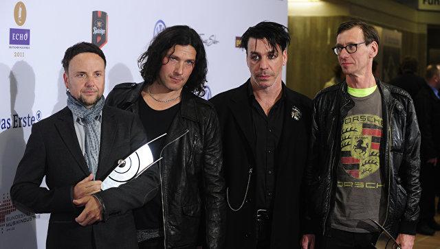 Группа Rammstein выступит в российской столице иПетербурге летом 2019 года