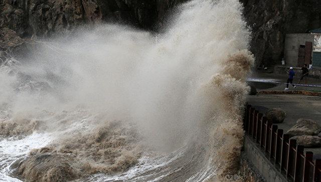 На Японию и Южную Корею обрушился мощный тайфун: есть жертвы