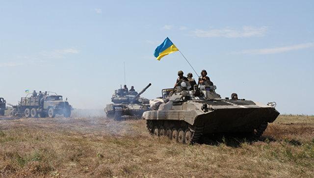 Военнослужащие ВСУ на востоке Украины. Архивное фото