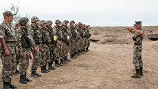 Учения артиллерийских подразделений ВС ПМР совместно с мотострелковым подразделением ОГРВ. 19 сентября 2017