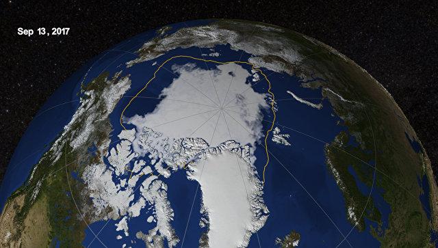 Таяние льда вАрктике становится рекордным