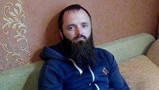 Задержанный лидер Христианского государства Александр Калинин. Архивное фото