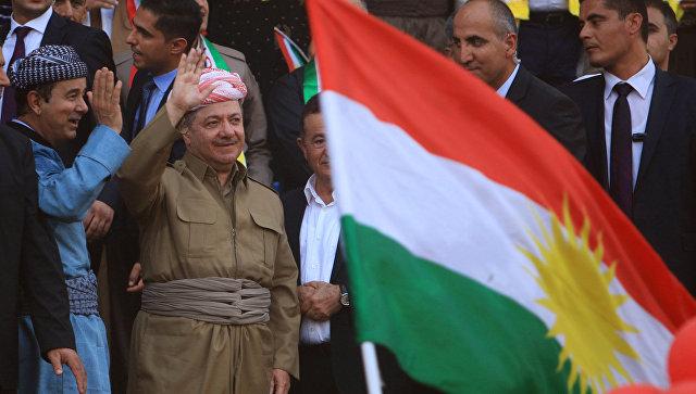 Президент Иракского Курдистана Масуд Барзани. 16 сентября 2017