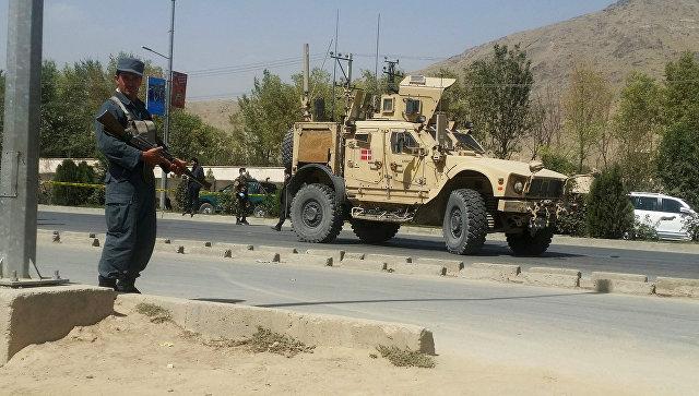 При нападении наконвой НАТО вКабуле пострадали три человека