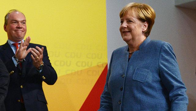 Меркель в 8-ой раз одолела всвоем округе