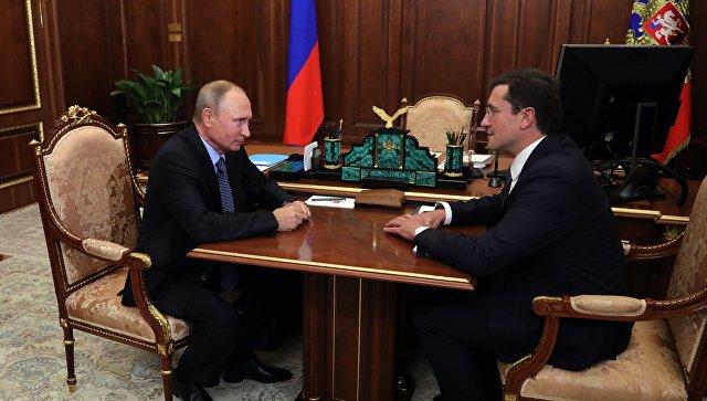 Врио нижегородского губернатора Никитин намерен приступить к работе в среду