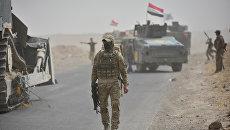 Бойцы сил быстрого реагирования Ирака под Киркуком