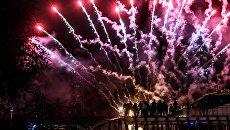 Посетители Московского международного фестиваля Круг Света. Архивное фото