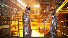 В цехе комплекса Железный Озон 32 Первоуральского новотрубного завода