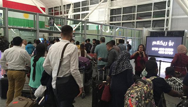 Все международные рейсы вИракский Курдистан будут приостановлены