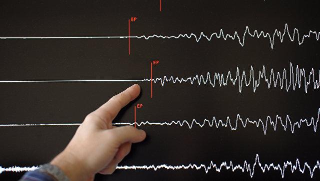 Землетрясение случилось в224км отАлматы