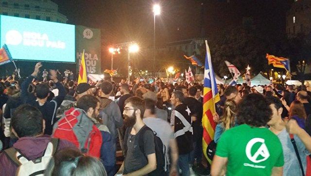 Вовремя беспорядков вКаталонии жители России непострадали— МИДРФ