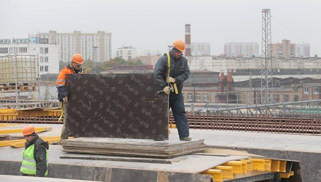 Строительство участка Северо-Восточной хорды от шоссе Энтузиастов до МКАД в Москве