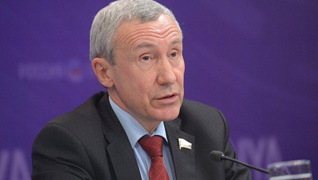 Заместитель председателя Комитета Совета Федерации по международным делам Андрей Климов. Архивное фото