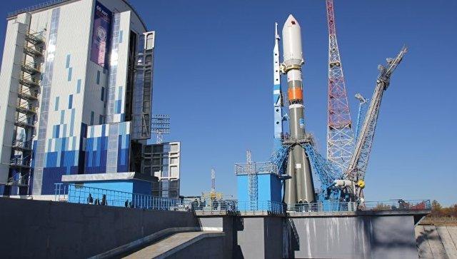 Комплексные испытания стартового комплекса начались на космодроме Восточный. Архивное фото