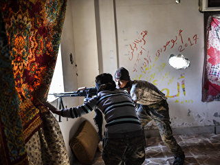 Члены Сирийских демократических сил. Архивное фото