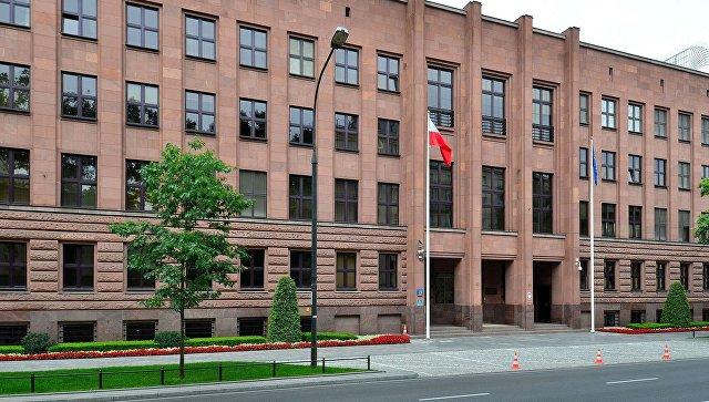 Здание МИД Польши в Варшаве. Архивное фото