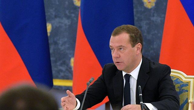 Медведев рассчитывает, что рост ВВПРФ по результатам  года превысит 2%