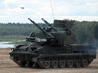 Зенитный ракетно-пушечный комплекс на международном военно-техническом форуме Армия. Архивное фото