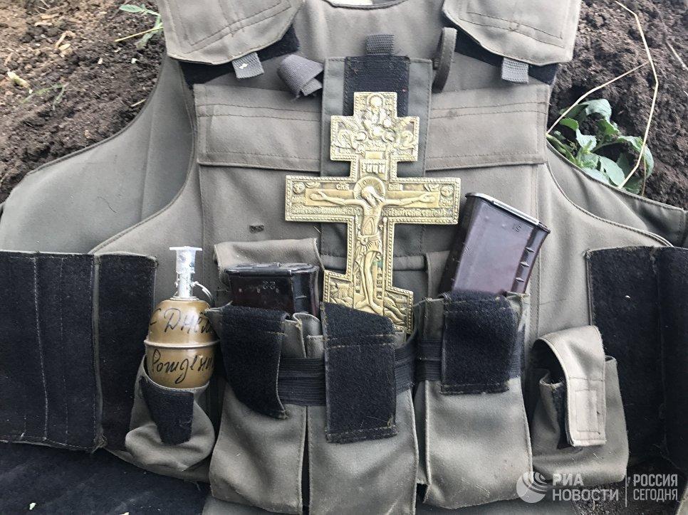 На позициях разведывательно-штурмового батальона, Донбасс