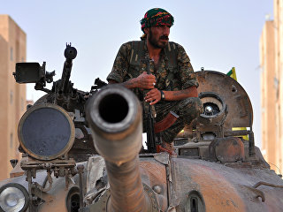 Боевик курдского отряда YPG. Архивное фото