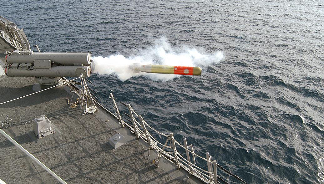 Выстрел торпедой. Архивное фото