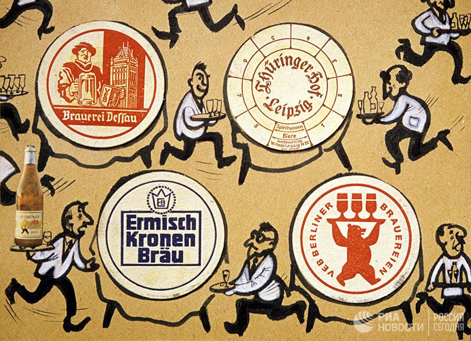Плакат Немецкое пиво - лучшее пиво в мире