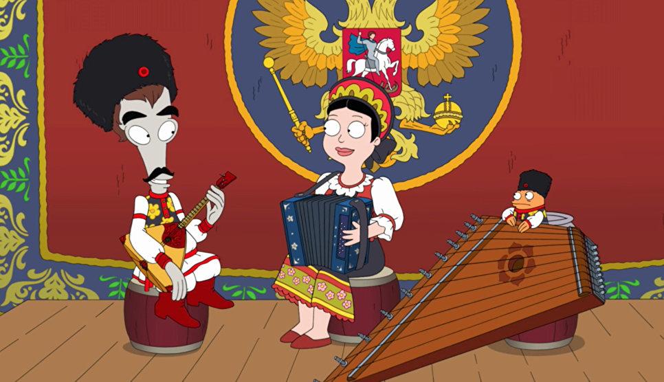 """""""Симпсоны"""" против Путина: как американские мультфильмы показывают Россию"""