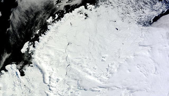 Отверстие в районе моря Уэдделла в Западной Антарктиде
