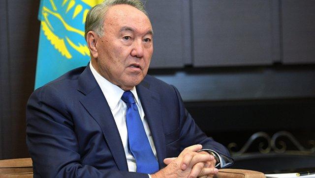 Назарбаев сообщил Путину о своем визите в США и переговорах с Трампом