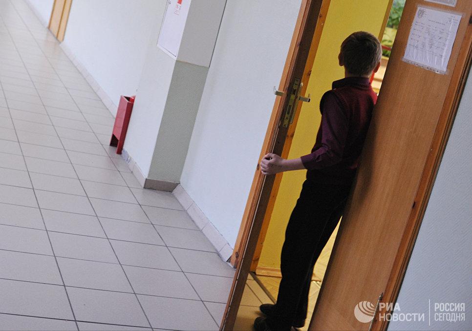 Урок в московской общеобразовательной школе