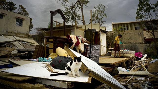 Число погибших урагана «Мария» вПуэрто-Рико достигло 64