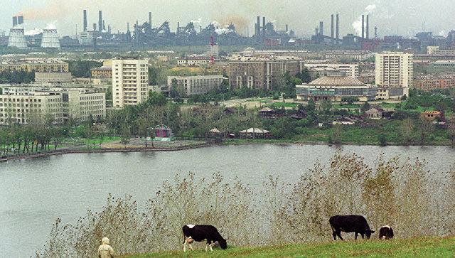 Вид на город Нижний Тагил. Архивное фото