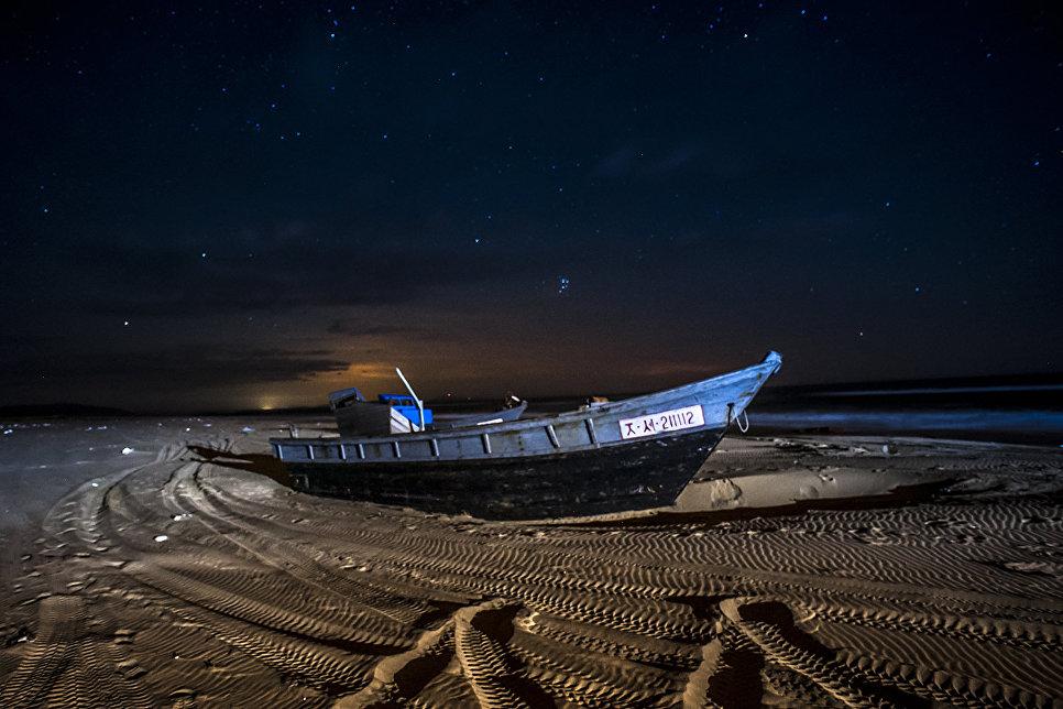 Кладбище корейских лодок