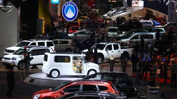 Московский международный автомобильный салон в выставочном центре Крокус Экспо. Архивное фото