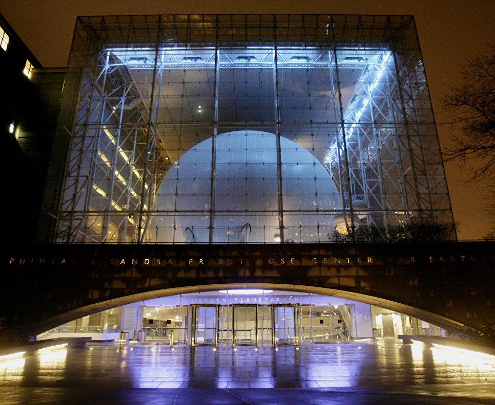 Hayden Planetarium в Нью-Йорке