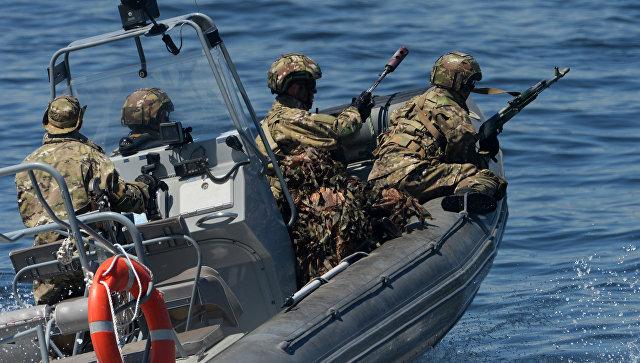 Морской спецназ. Архивное фото