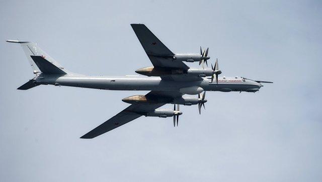СМИ: Ту-95 провели патрулирование над Японским и Восточно-Китайским морями