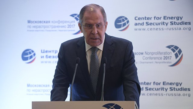 Лавров: РФ неприсоединится к контракту озапрещении ядерного оружия