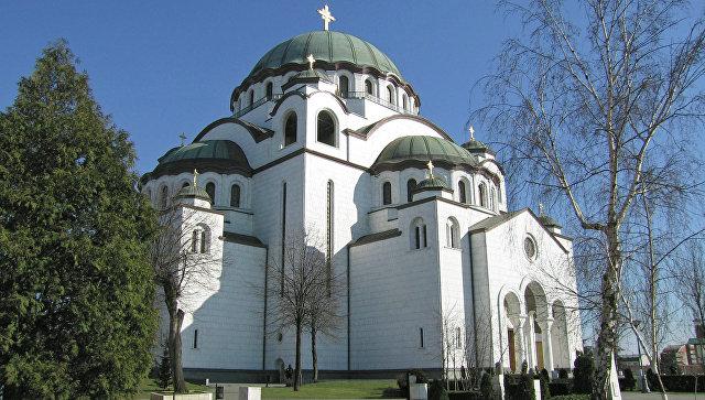 Шойгу передал патриарху Сербскому икону для храма святого Саввы в Белграде