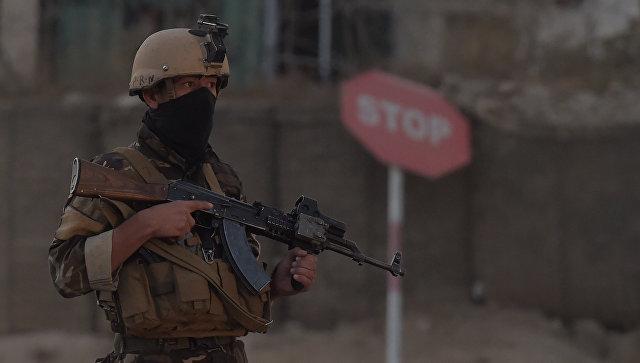 Афганский военнослужащий. Архивное фото