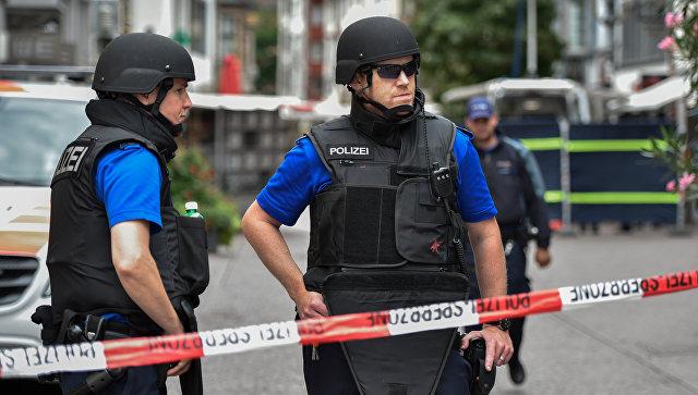 Швейцарская полиция. Архивное фото