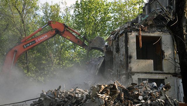 Отходы реновации неповезут соседям