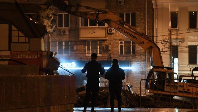 Три объекта самостроя снесут вночь навторник в столице России