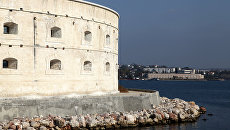Константиновская батарея в Севастополе. Архивное фото