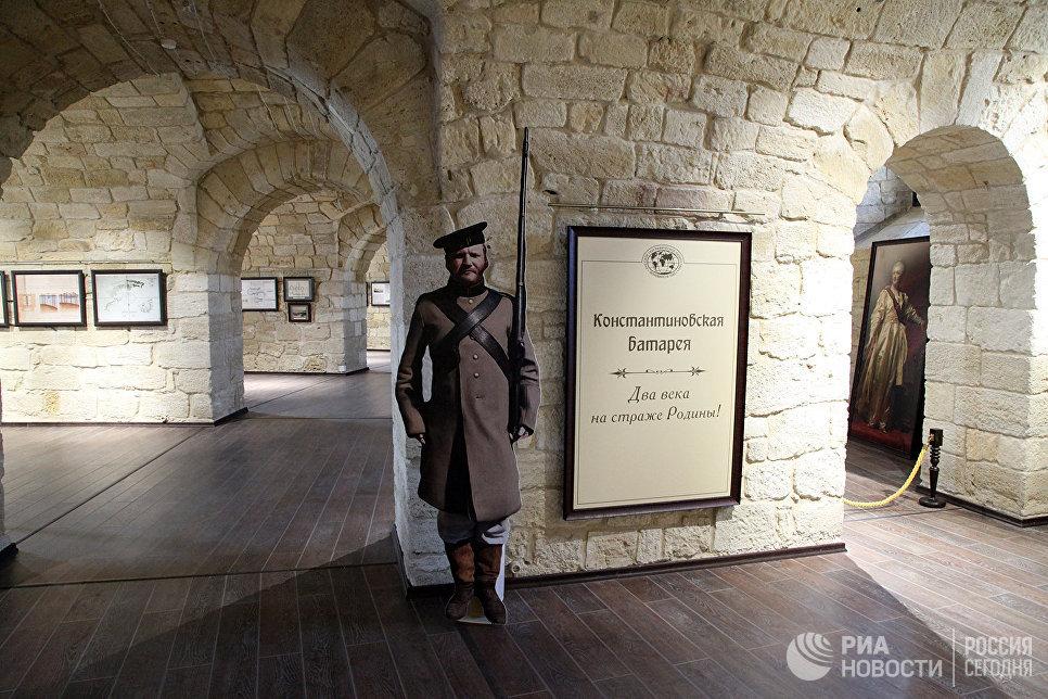 Константиновская батарея вСевастополе будет открыта для посещения с4ноября