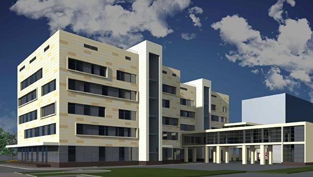 Проект корпуса для роддома №4 на Юго-Западе Москвы