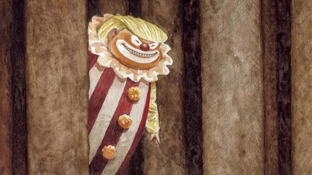 Печатное издание New Yorker выпустит номер сТрампом вобразе клоуна наобложке